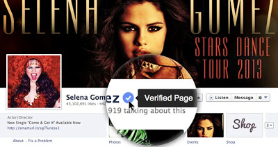 fb verified account
